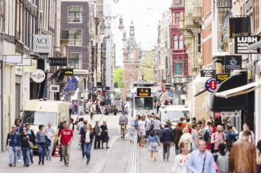 Transportrevolution i många städer