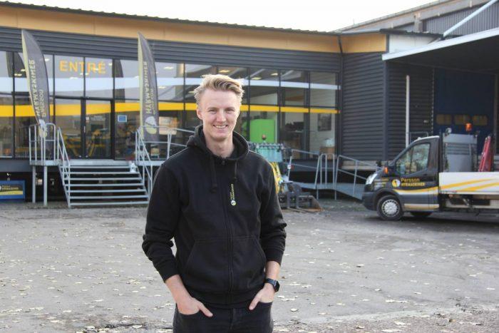 Ny depåchef i Göteborg för Persson Hyrmaskiner