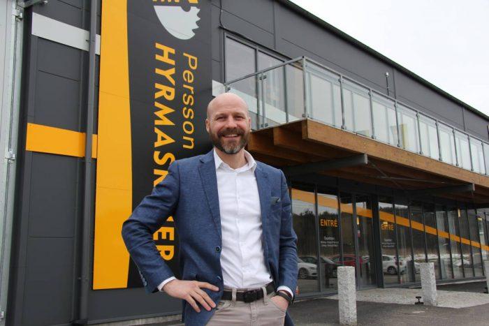 Persson Hyrmaskiner expanderar