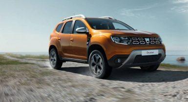 Dacia Duster med 1,3 liters bensinmotor