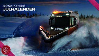 Scania Sveriges julkalender