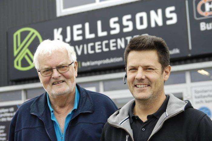 Kjellssons satsar på bredd i tungviktsklassen