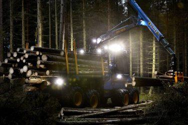 Förbättrad LED-belysning på Rottnes maskiner