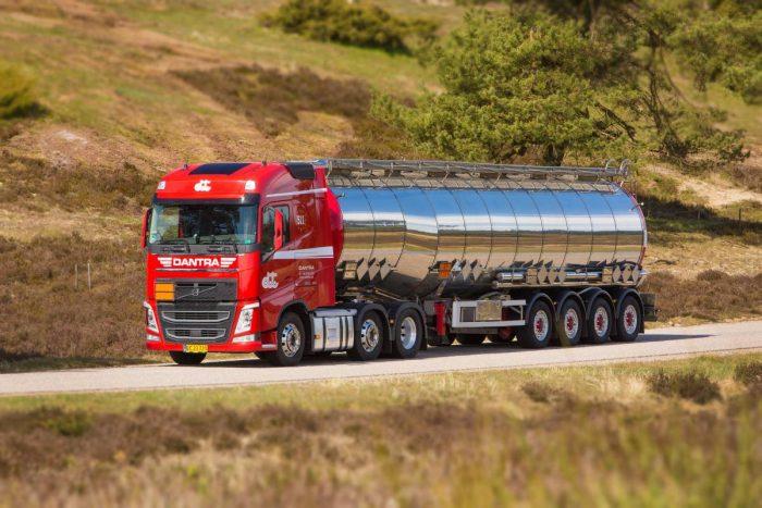 Specialtransporter ett framgångsrecept för Dantra