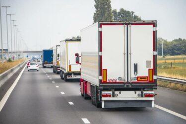 Ökad lastbilstrafik hotar klimatmålet