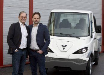 Svenskt företag lanserar eldriven lätt lastbil