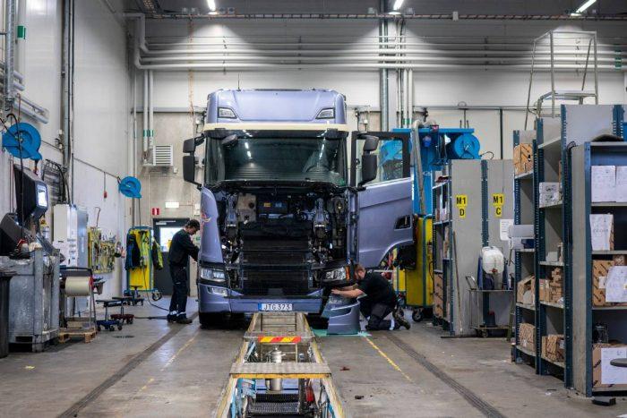 Antalet uppkopplade Scaniabilar ökar snabbt