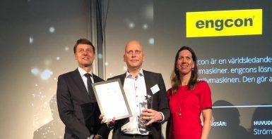 Engcon prisas som ett av Sveriges bäst skötta företag
