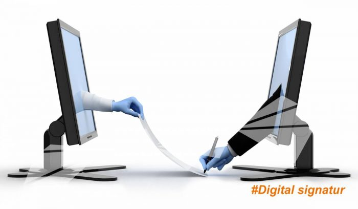 Signera köpet av företagsbil digitalt