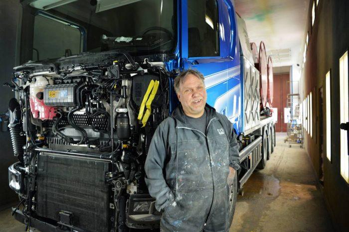 Lastbilar är huvudsaken för PL's i Karlstad
