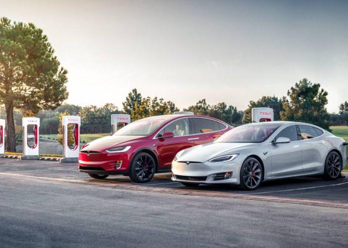 Begagnad Tesla