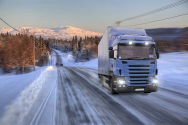 Ändrade regler om vinterdäck på tunga fordon