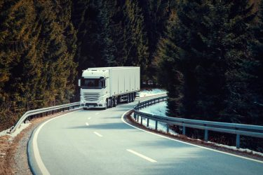 Ökat utsläpp från lastbilar per mil