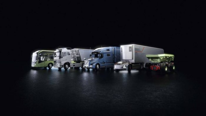 Volvokoncernen ingår partnerskap med Nvidia
