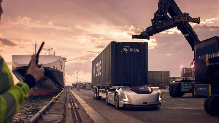 Volvo Lastvagnar presenterar självkörande transportlösning