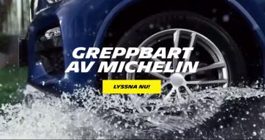 Michelin lanserar podd om däck