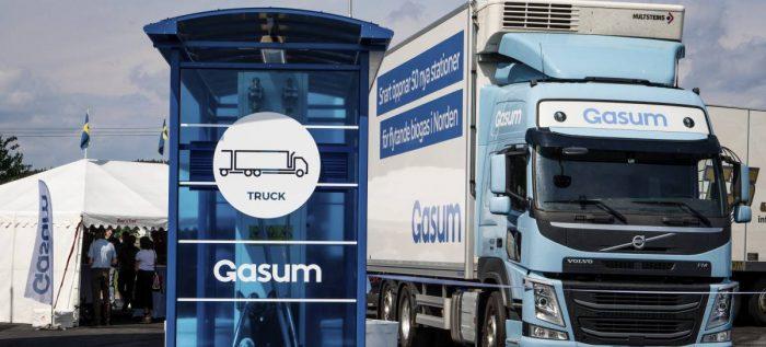 Gasum öppnarstation i Örebro
