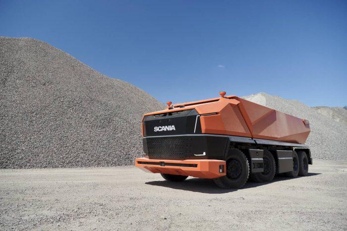 Scania introducerar hyttlös konceptlastbil