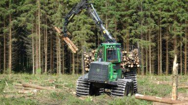 Spelteknik underlättar skogsarbetet