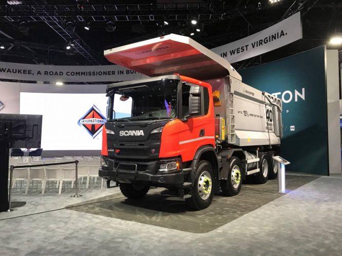 Scania och Navistar studerar samarbete kring leveranser till gruvindustrin i Kanada