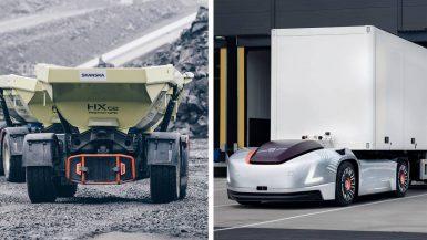 Volvokoncernen skapar nytt affärsområde för självkörande transportlösningar