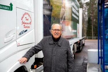 Mejeritransporter AB satsar på gasdrivna fordon