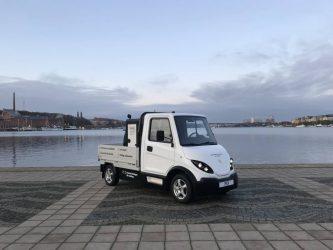 Inzile lanserar eldriven lätt lastbil