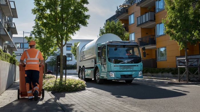 Volvo startar försäljningen av eldrivna lastbilar