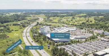 Infrastrukturen vid Arlandastad förbättras med ny tunnel