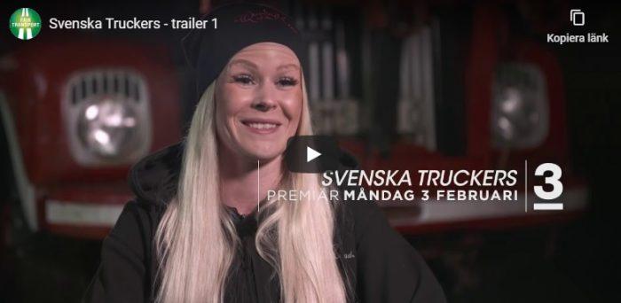 Svenska Truckers – åkerinäringen i fokus i ny tv-serie