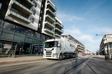 Scanias introducerar batterieldrivna lastbilar i Norge