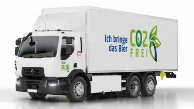 Renault Trucks levererar ellastbilar till Carlsberggruppen