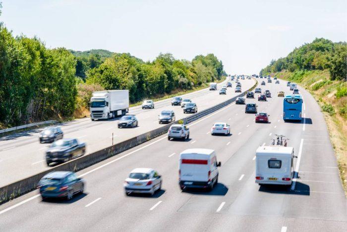 Högst minskning inom vägtrafiken – i personkilometer