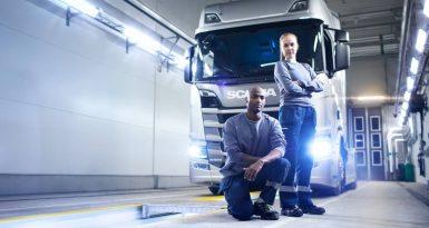 Nu ska Sveriges bästa Scania service-team koras