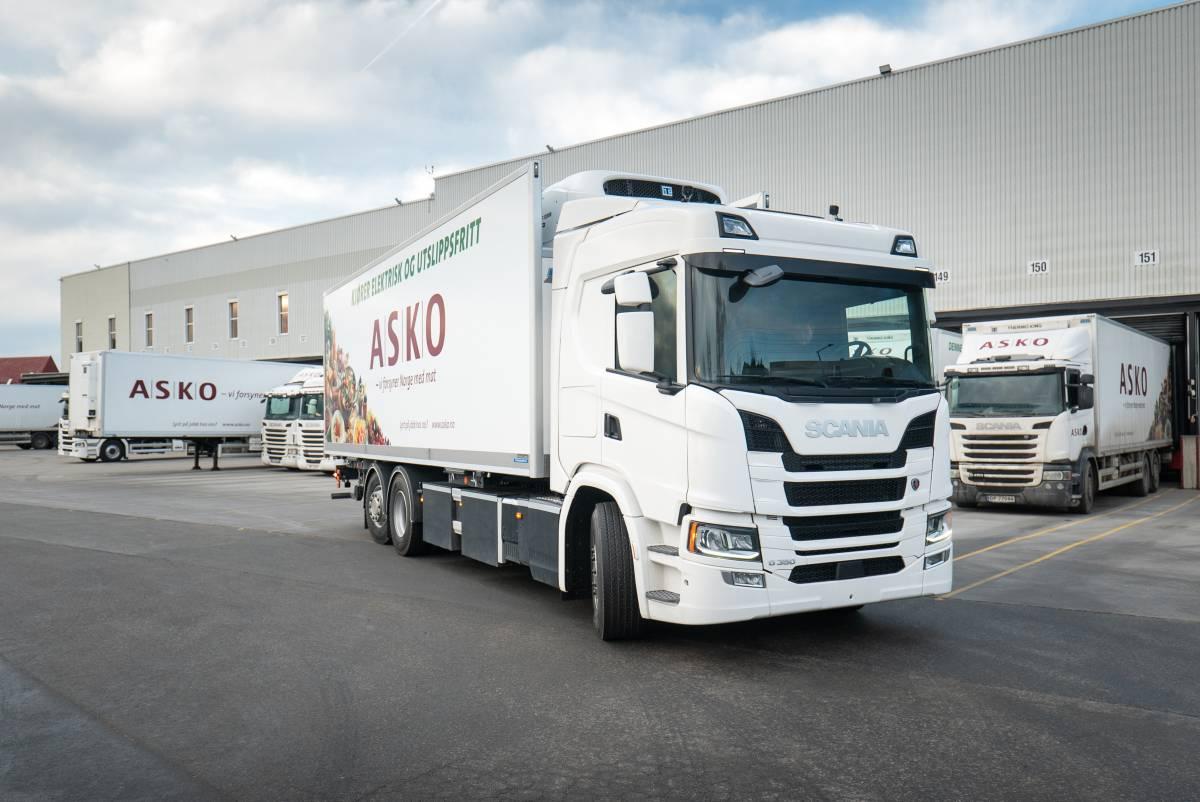 Scania levererar 75 ellastbilar till Norge Åkeri & Entreprenad