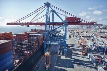 Full containeraktivitet i Göteborgs hamn trots pandemin