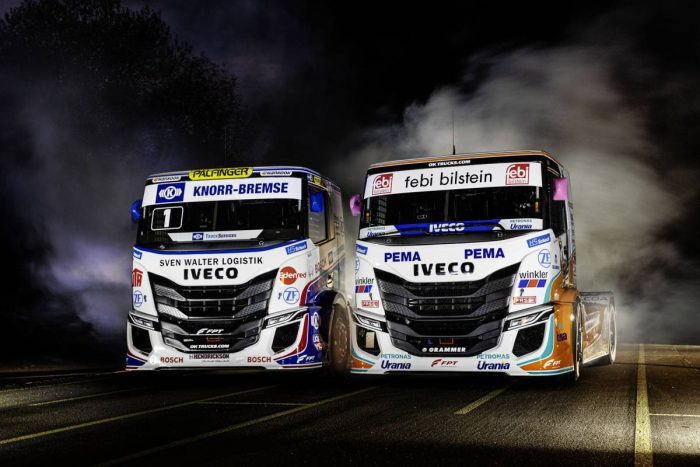 Presenterar nya racinglastbilar