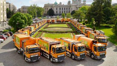 De levererar 44 renhållningsfordon till Belgrad