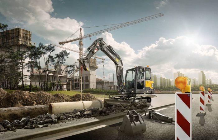 YrkesAkademin har beställt 34 Volvo grävmaskiner