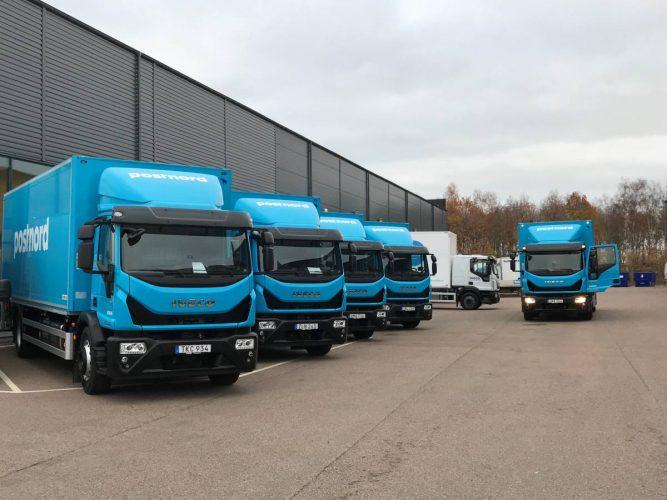 Postnord investerar i nya lastbilar från IVECO