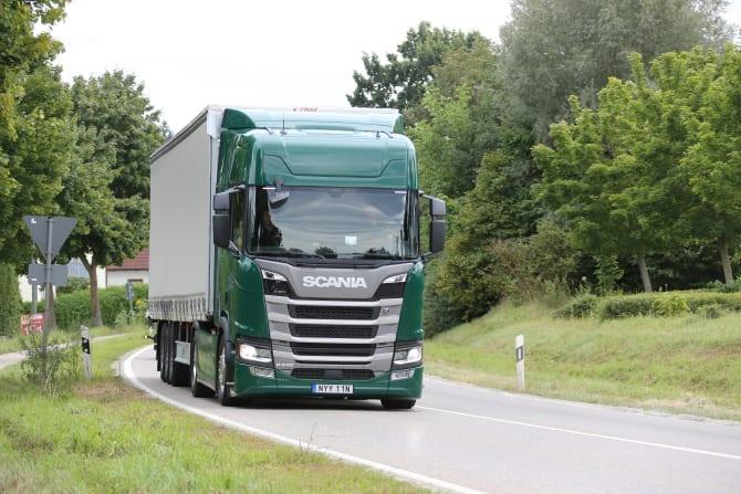 Scania vinner Green Truck för fjärde året i rad