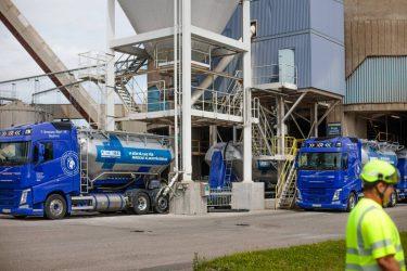 Cementa utökar den gasdrivna fordonsflottan