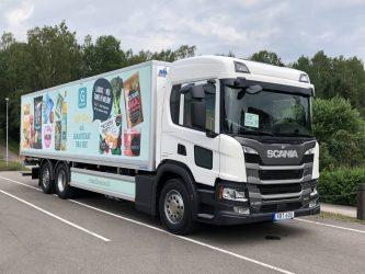 Axfood och Scania i samarbete för hållbara transporter