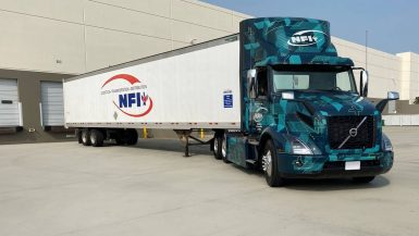 NFI startar pilotprojekt med elektrifierade tunga lastbilar