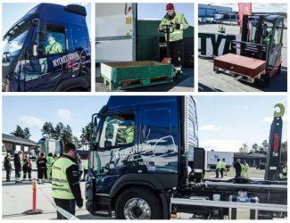 Första SM-kvaltävlingen för unga lastbilschufförer