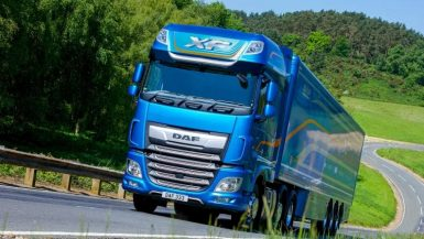"DAF XF har utsetts till ""Fleet Truck of the Year"""