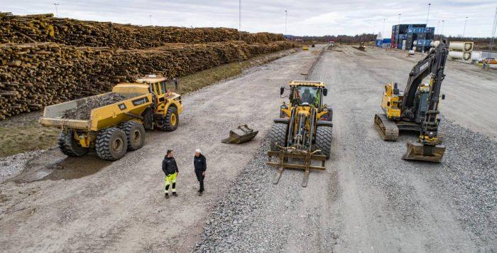 Miljön styr maskinvalet hos Skultorps Åkeri & Grus AB