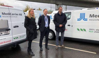 Storsatsar på nya lastbilar som drivs på el och biogas