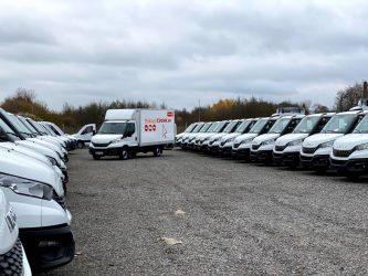 Circle K rundar av året med över 200 transportbilar från Iveco