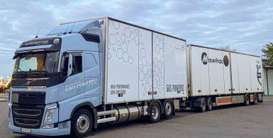 Över förväntan när LBG-drivna lastbilar testades